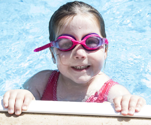 Child Swimming Lessons Basingstoke
